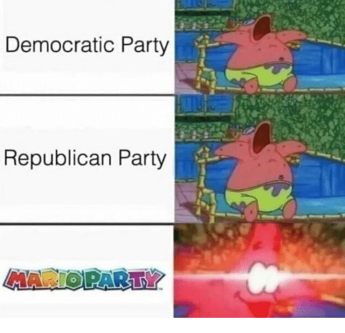 Republican Party: Democratic Party  Republican Party  MAR