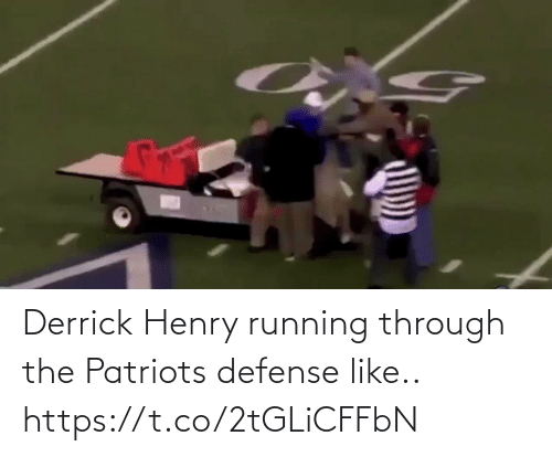 ballmemes.com: Derrick Henry running through the Patriots defense like.. https://t.co/2tGLiCFFbN