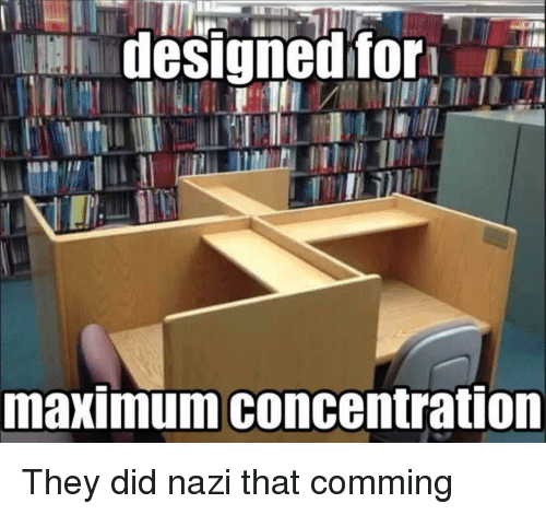 Accidental Racism, Nazi, and Did: designed for  maximum concentration