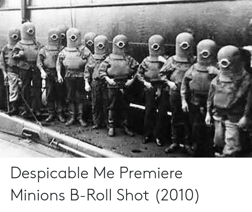 Despicable Me, Minions, and Shot: Despicable Me Premiere Minions B-Roll Shot (2010)