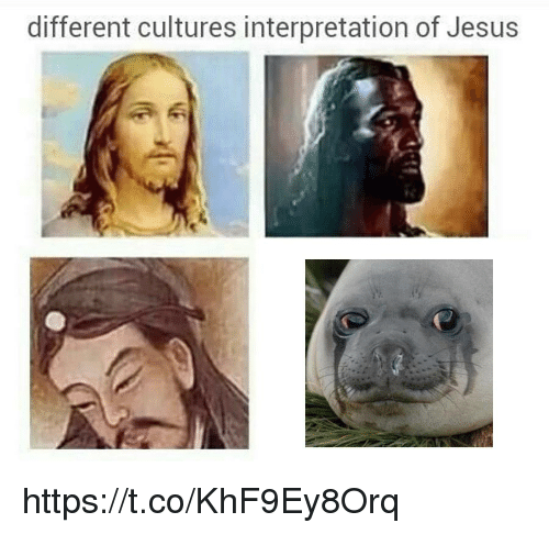 Jesus, Different, and Different Cultures: different cultures interpretation of Jesus https://t.co/KhF9Ey8Orq