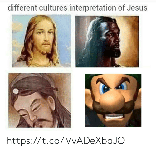 Jesus, Different, and Different Cultures: different cultures interpretation of Jesus https://t.co/VvADeXbaJO