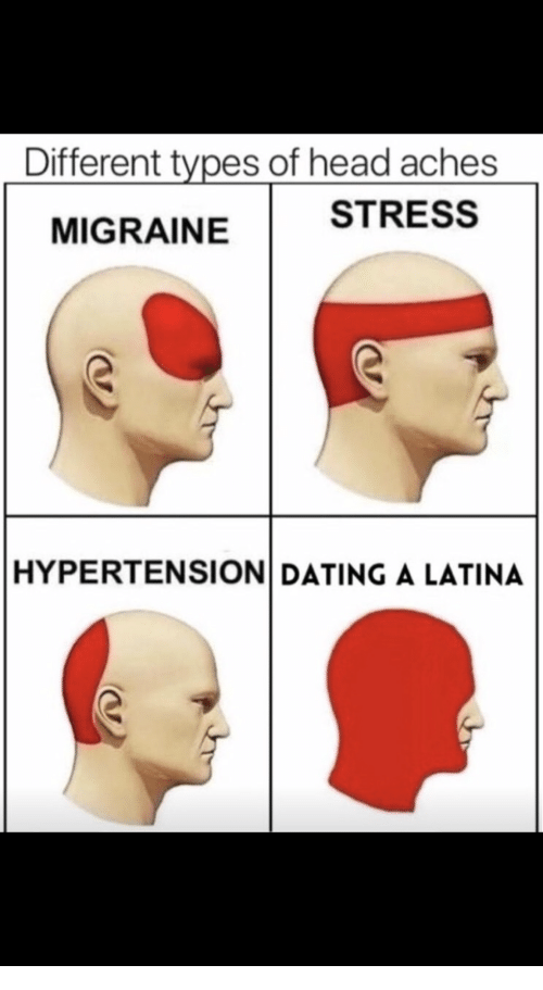 stages of dating a latina meme