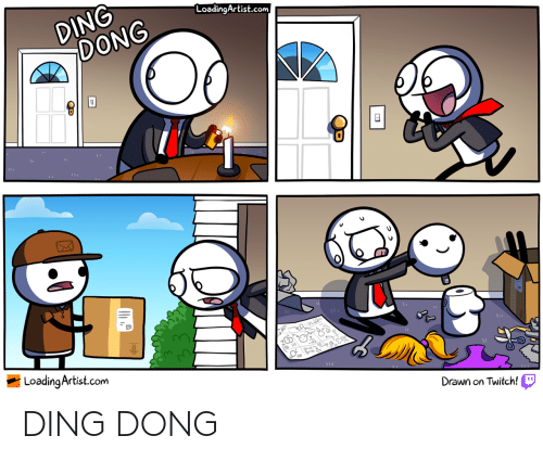 Ding: DING DONG