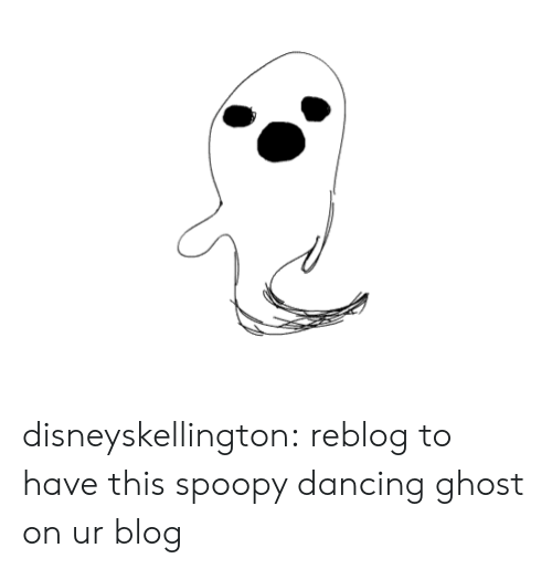 Dancing, Target, and Tumblr: disneyskellington:  reblog to have this spoopy dancing ghost on ur blog