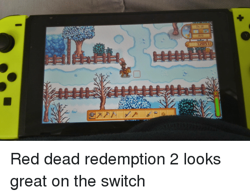 Red Dead Redemption, Red Dead, and Red: Do. 18  0840  12051 Red dead redemption 2 looks great on the switch