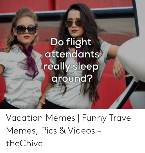 Do Flight Attendants Really Sleep Around? Vacation Memes