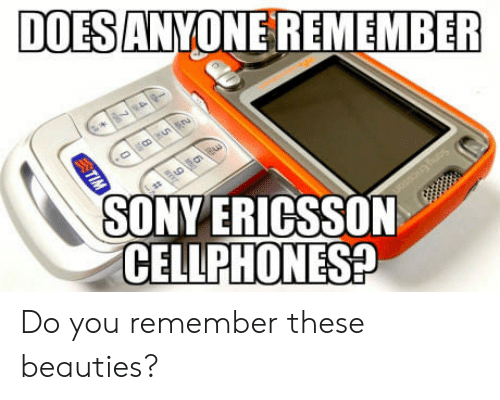 cellphones: DOES ANYONE REMEMBER  SONY ERICSSON  CELLPHONES Do you remember these beauties?
