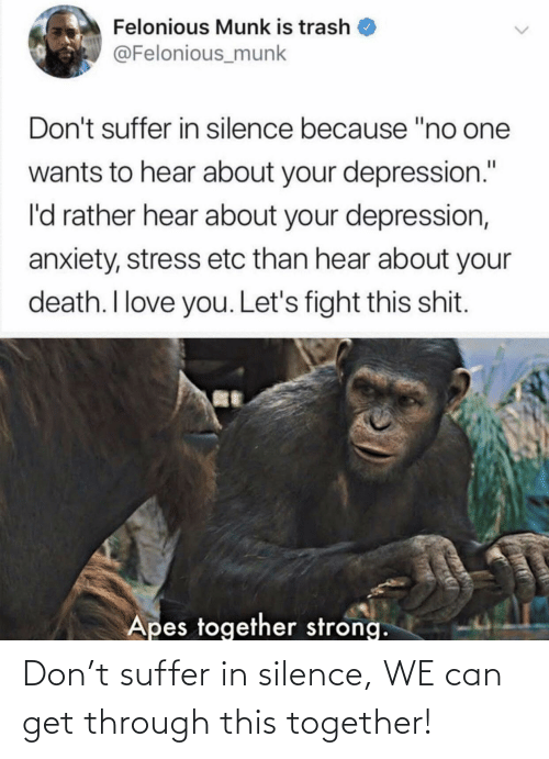 Can Get: Don't suffer in silence, WE can get through this together!