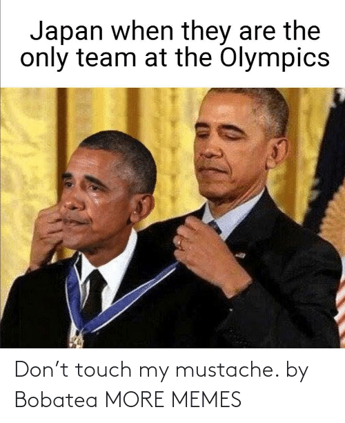 touch: Don't touch my mustache. by Bobatea MORE MEMES