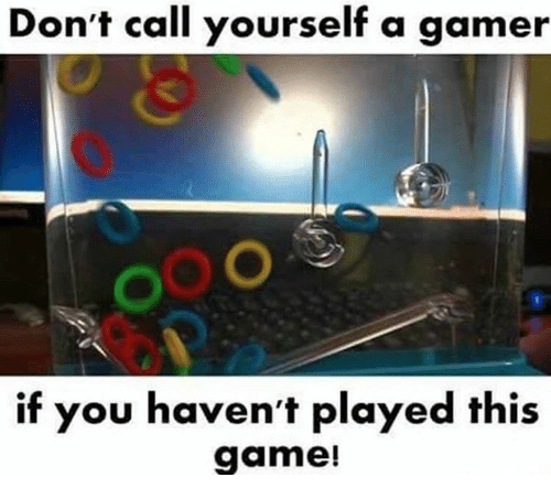 Funny, Game, and Gamer: Don't call yourself a gamer  0  if you haven't played this  game!