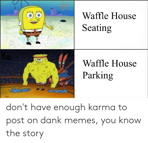 Have Enough: don't have enough karma to post on dank memes, you know the story