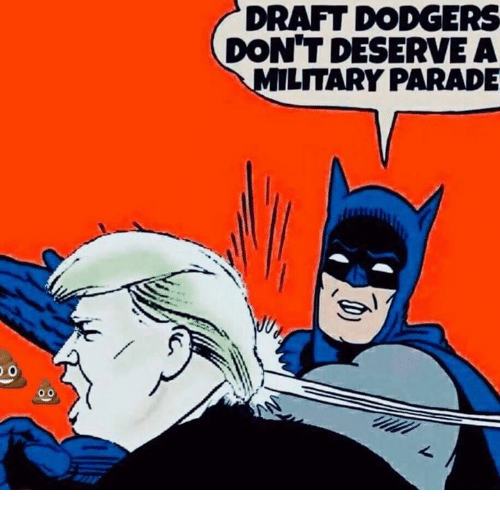 dodgers: DRAFT DODGERS  DON'T DESERVEA  LITARY PARADE  0.0
