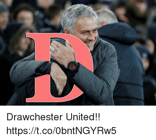 Memes, United, and 🤖: Drawchester United!! https://t.co/0bntNGYRw5