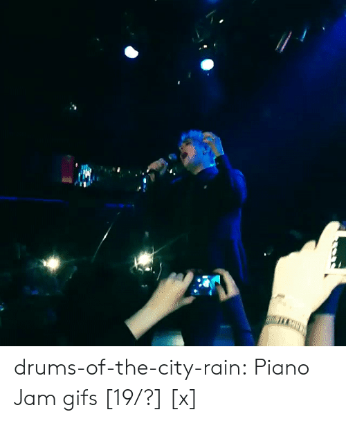 Instagram, Tumblr, and Blog: drums-of-the-city-rain:  Piano Jam gifs [19/?] [x]