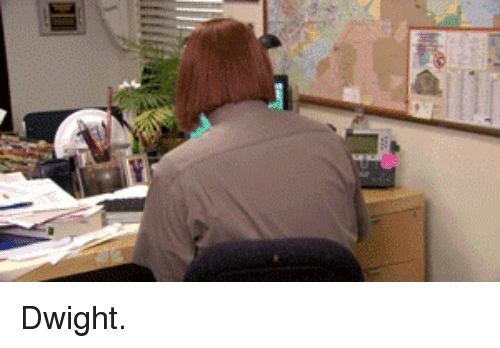 The Office and Dwight