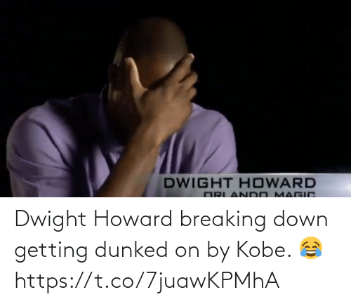breaking: Dwight Howard breaking down getting dunked on by Kobe. 😂 https://t.co/7juawKPMhA