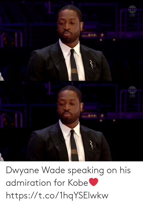 Wade: Dwyane Wade speaking on his admiration for Kobe❤️ https://t.co/1hqYSElwkw