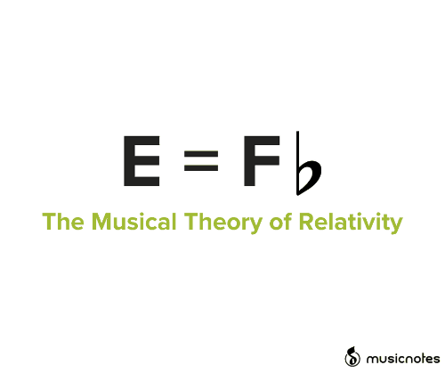 musical: E = Fb  The Musical Theory of Relativity  musicnotes