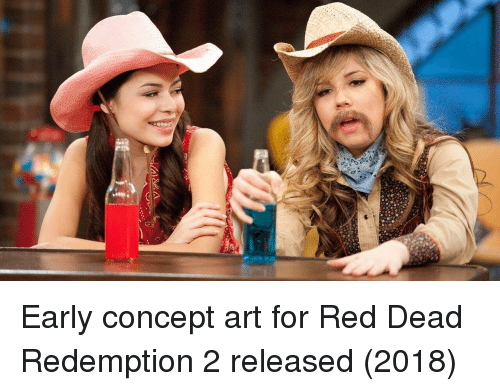 Red Dead Redemption, Art, and Red Dead: Early concept art for Red Dead Redemption 2 released (2018)