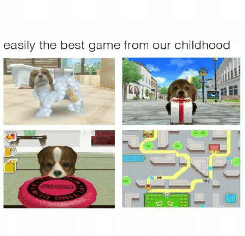 Easily: easily the best game from our childhood  CEESEDAD
