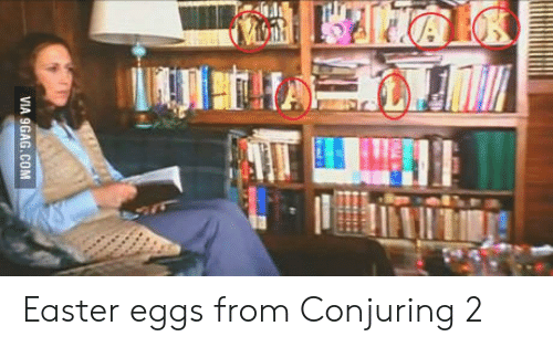 Conjuring 2: Easter eggs from Conjuring 2