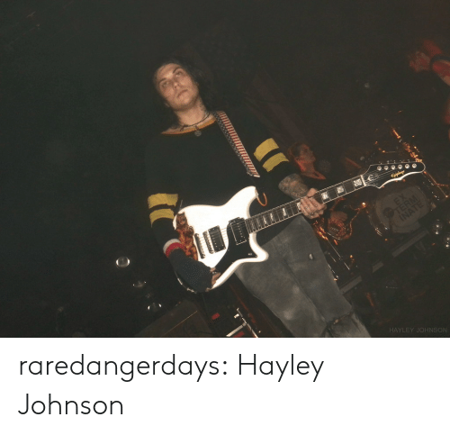 Tumblr, Blog, and Flickr: Eiphon  TERN  INATE  HAYLEY JOHNSON raredangerdays:  Hayley Johnson