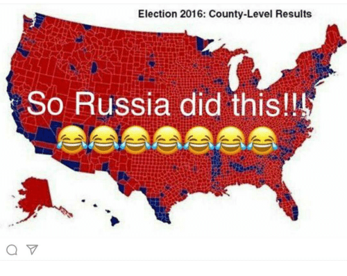 election 2016: Election 2016: County-Level Results  So Russia did this!