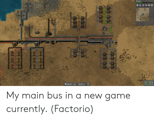 Factorio Main Bus How Many Lanes