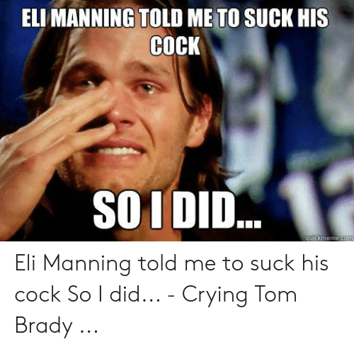 Eli manning and the giants suck