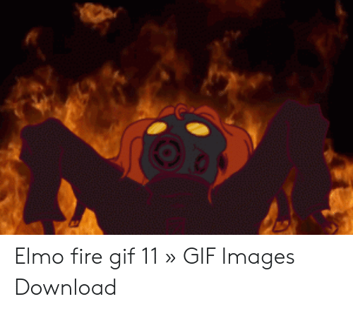 Elmo Fire Gif 11 Gif Images Download Elmo Meme On