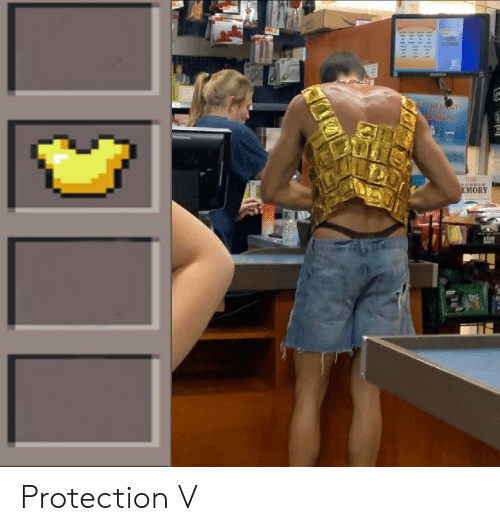 Emory, Protection, and V: EMORY Protection V