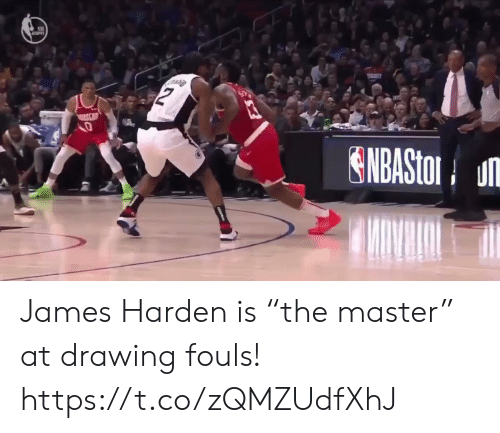 "harden: ENBASto u James Harden is ""the master"" at drawing fouls! https://t.co/zQMZUdfXhJ"
