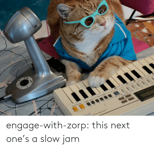 jam: engage-with-zorp: this next one's a slow jam