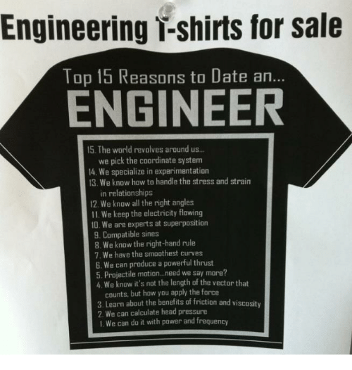 engineering dating what to expect after dating 5 months