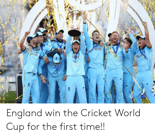 cricket world cup: ENGLAND  ENELAND  ENDAN  EMND  NGLAND  EBANDEN England win the Cricket World Cup for the first time!!