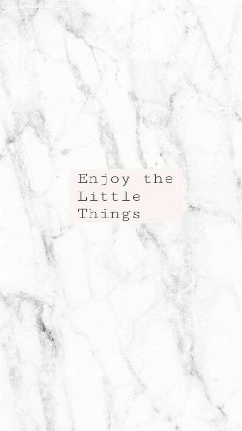 Things,  Little Things, and  Enjoy the Little Things: Enjoy the  Little  Things