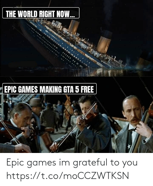 To You: Epic games im grateful to you https://t.co/moCCZWTKSN