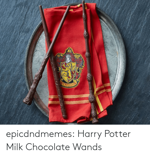 Chocolate: epicdndmemes:  Harry Potter Milk Chocolate Wands