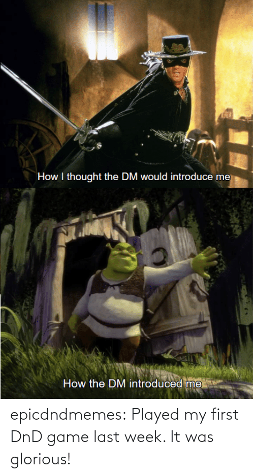 played: epicdndmemes:  Played my first DnD game last week. It was glorious!