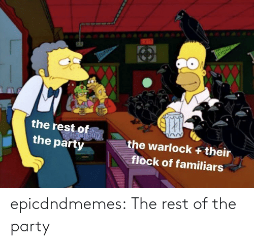 tumblr blog: epicdndmemes:  The rest of the party