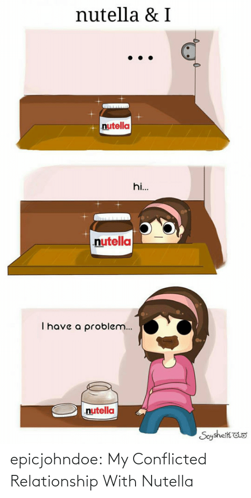 relationship: epicjohndoe:  My Conflicted Relationship With Nutella