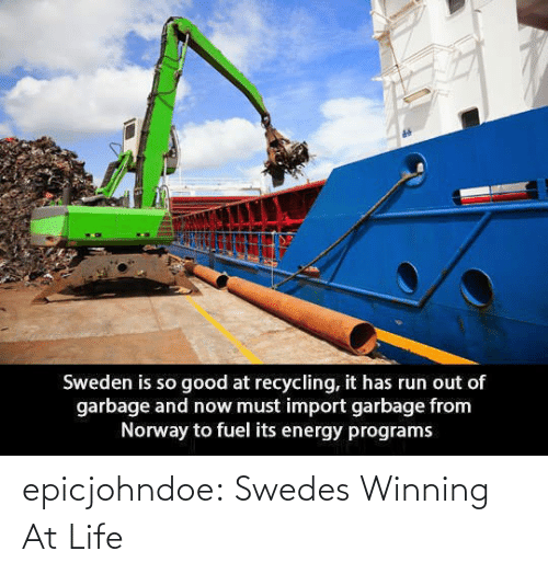At: epicjohndoe:  Swedes Winning At Life