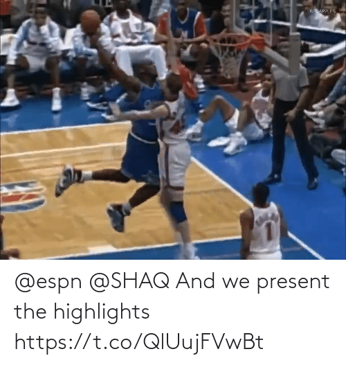 ESPN: @espn @SHAQ And we present the highlights  https://t.co/QlUujFVwBt