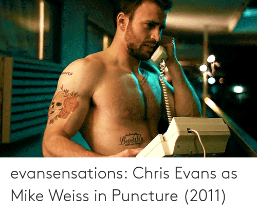 small: evansensations:  Chris Evans as Mike Weiss in Puncture (2011)