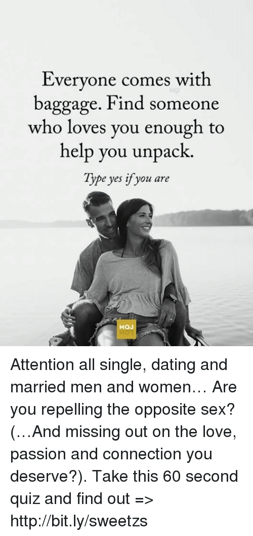 dating man with baggage