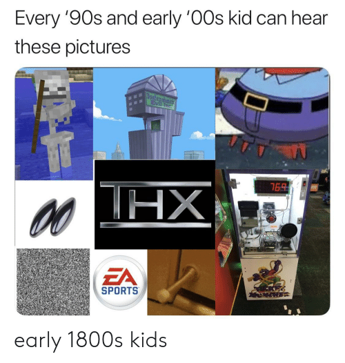 Sports, Kids, and Pictures: Every 9Os and early 0Os kid can hear  these pictures  ZA  SPORTS early 1800s kids