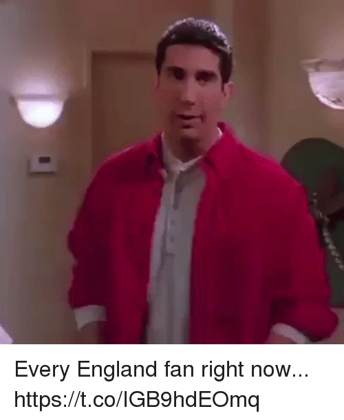 England, Memes, and 🤖: Every England fan right now... https://t.co/IGB9hdEOmq