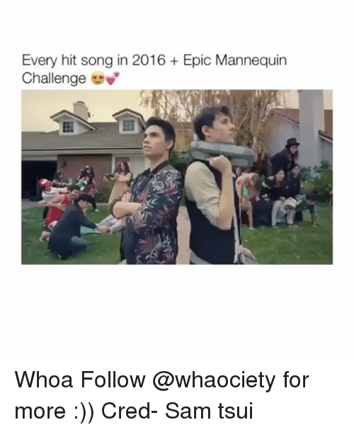 Mannequin Challeng: Every hit song in 2016 Epic Mannequin  Challenge Whoa Follow @whaociety for more :)) Cred- Sam tsui