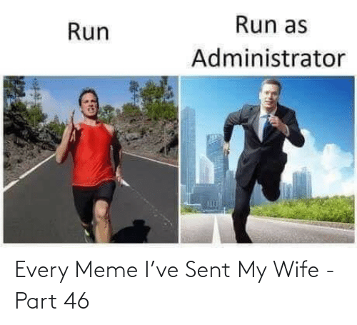 Every Meme: Every Meme I've Sent My Wife - Part 46